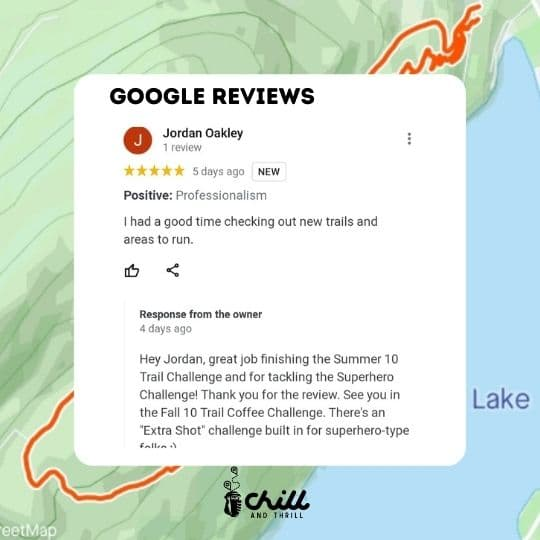 Chill and Thrill Trail Challenge and Scavenger Hunt Reviews Chilliwack
