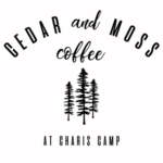 Cedar and Moss Coffee at Charis Camp